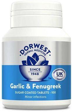 Dorwest - Garlic & Fenugreek - 100 Tbl