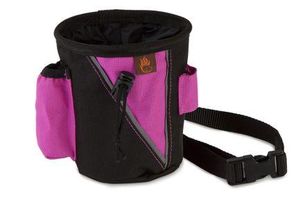 Firedog Leckerlitasche klein schwarz/pink