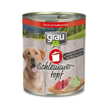 Grau Schlemmertopf Rind mit Vollkornreis 800 g