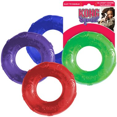 Kong Squeezz Ring M Hundespielzeug