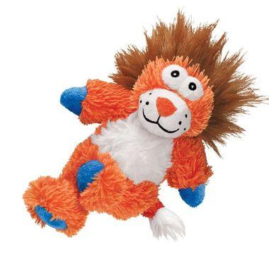 Kong Cross Knots Plüsch Löwe M/L Hundespielzeug