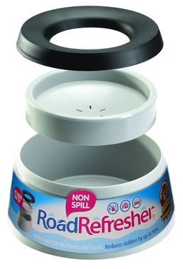 Hundenapf Road Refresher™ groß 1,4 l grau