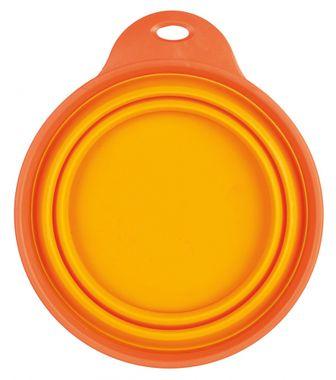 Trixie Reisenapf, Silikon 1 l/18 cm orange