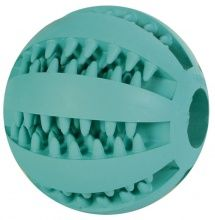 Trixie Denta Fun Mintfresh Baseball, Naturgummi 7 cm