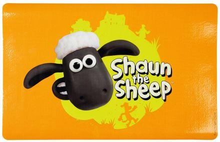 Trixie Shaun das Schaf Napfunterlage 44 x 28 cm orange